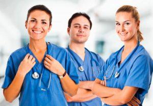 Консультация у врачей по поводу псориаза