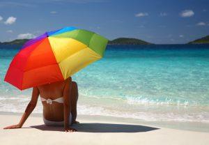 Отдых у моря при дерматите