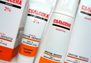 Лечебные шампуни для кожи головы