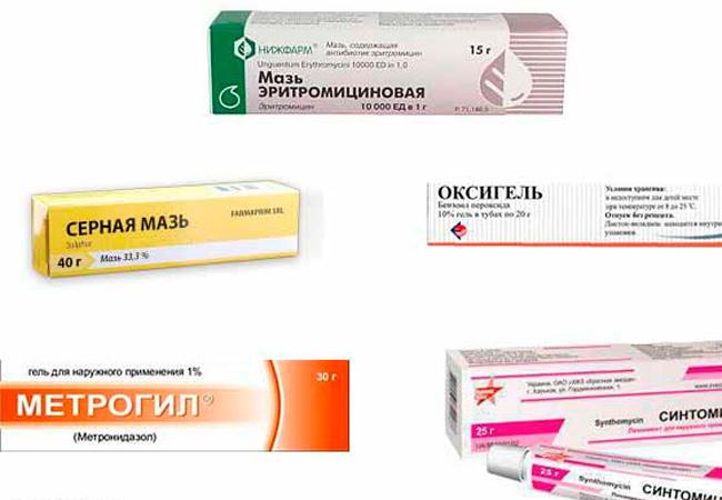 Угри на лице лечение препараты