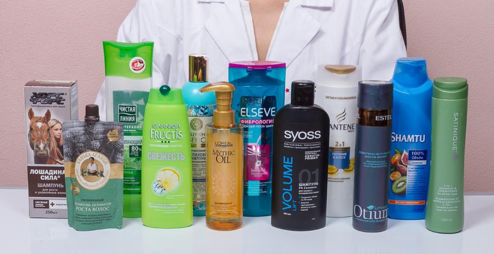 Шампунь для лечения псориаза волосистой части головы